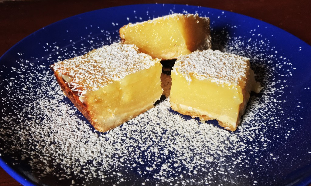 Ina's lemon bars featured