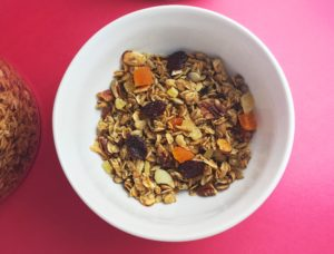Tropical Granola featured