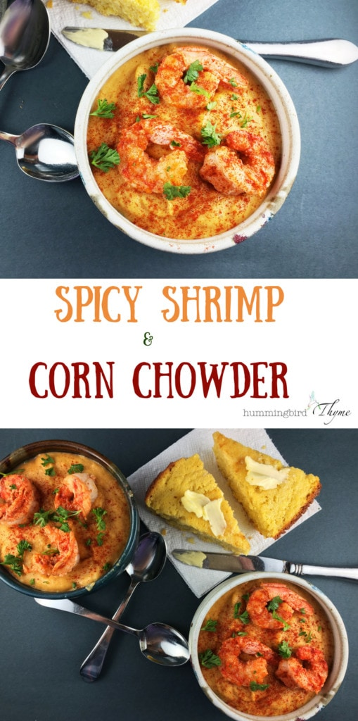 Spicy Shrimp and Corn Chowder