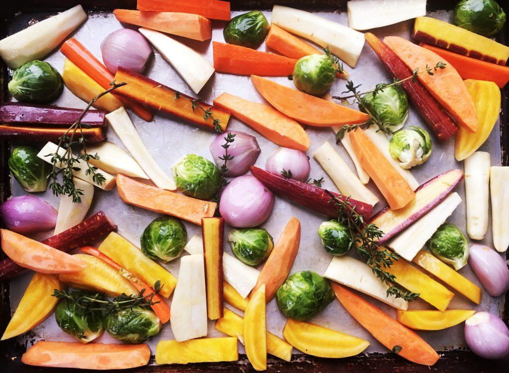 Root Vegetables, roasted
