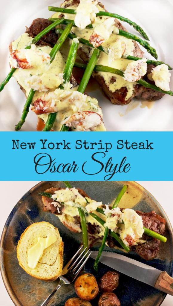 Strip Steak Oscar Style