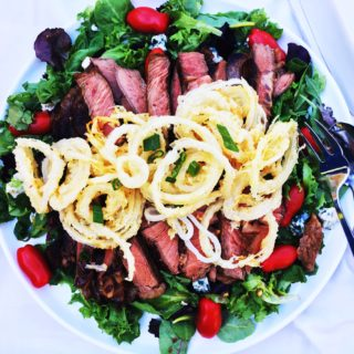 Big Steak Salad from Pioneer Woman