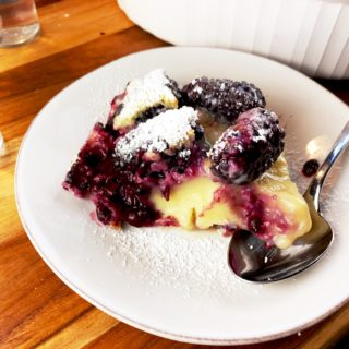 Julia Child Blackberry Clafoutis