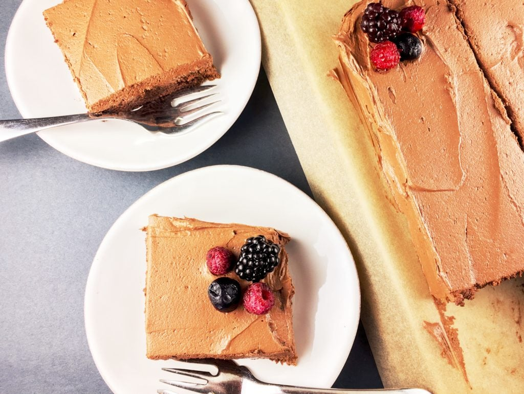 Chocolate Cake Chocolate Frosting