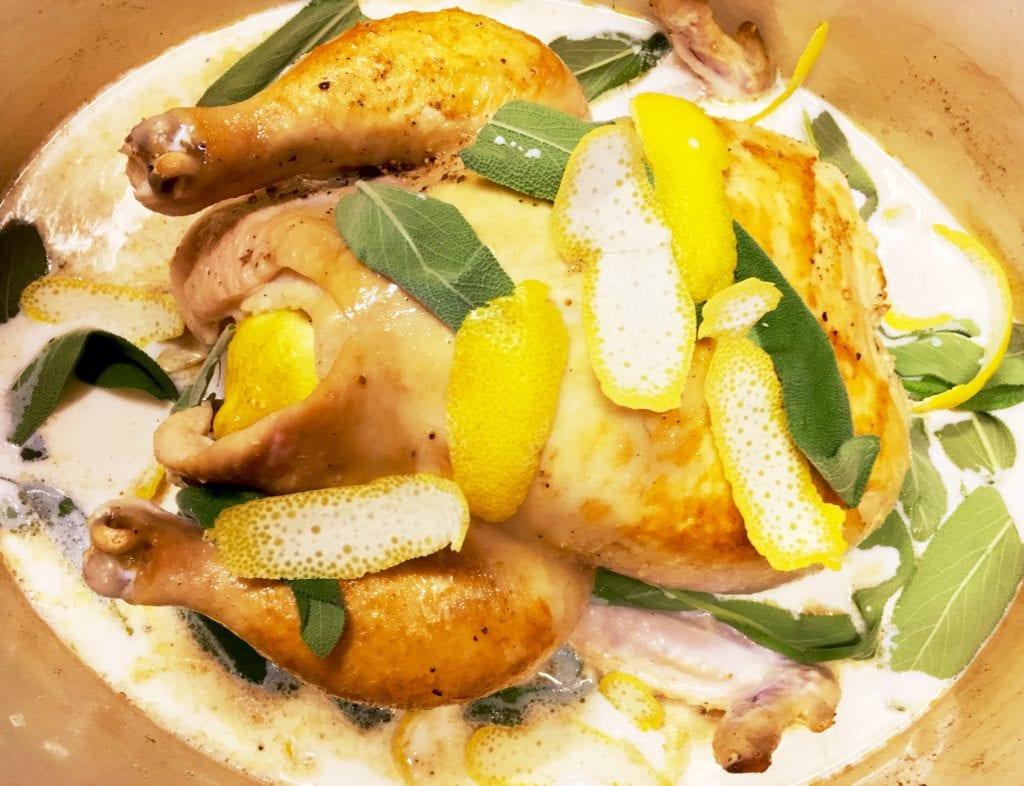 Chicken in Milk Jamie Oliver