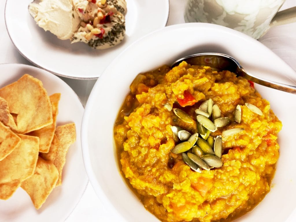 Sweet Potato and Red Lentil Stew