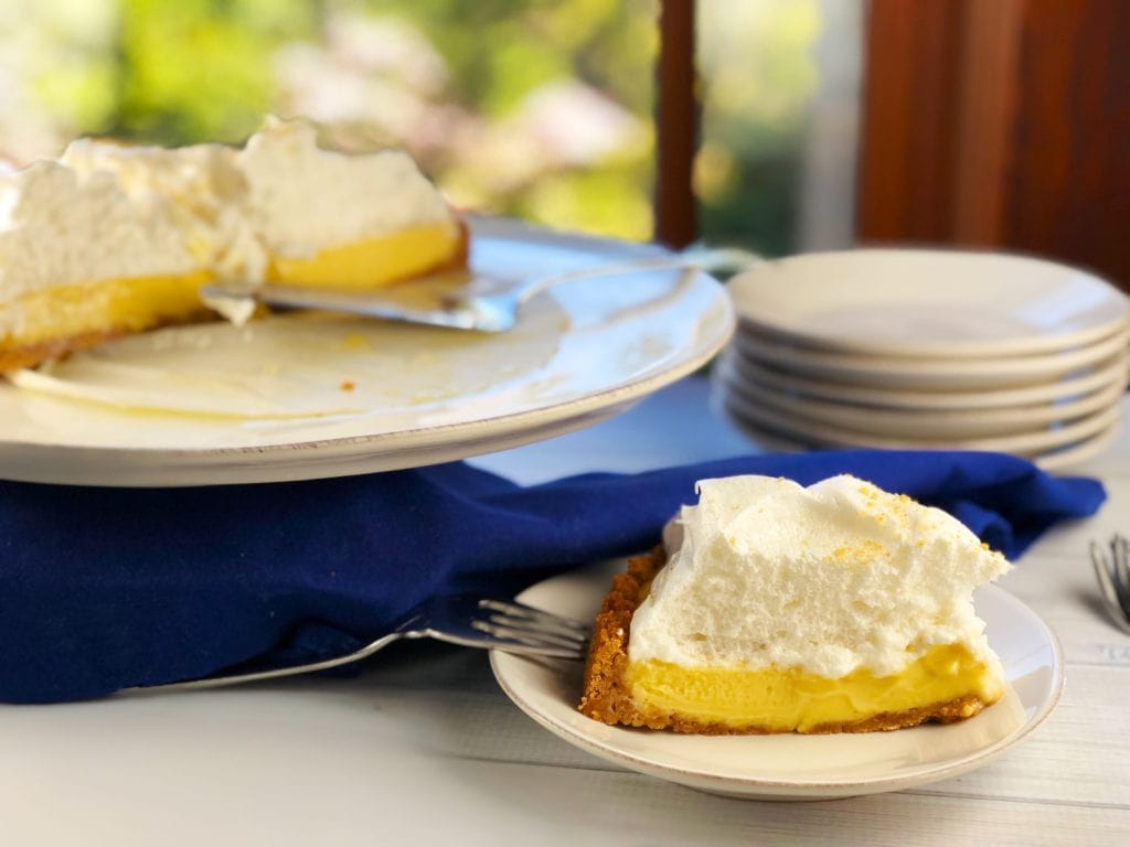 Key Lime Pie Tart