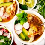Easy Chicken Tortilla Soup with Nachos