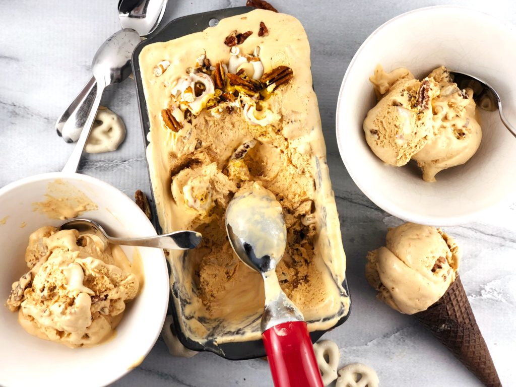 No Churn Caramel Ice Cream