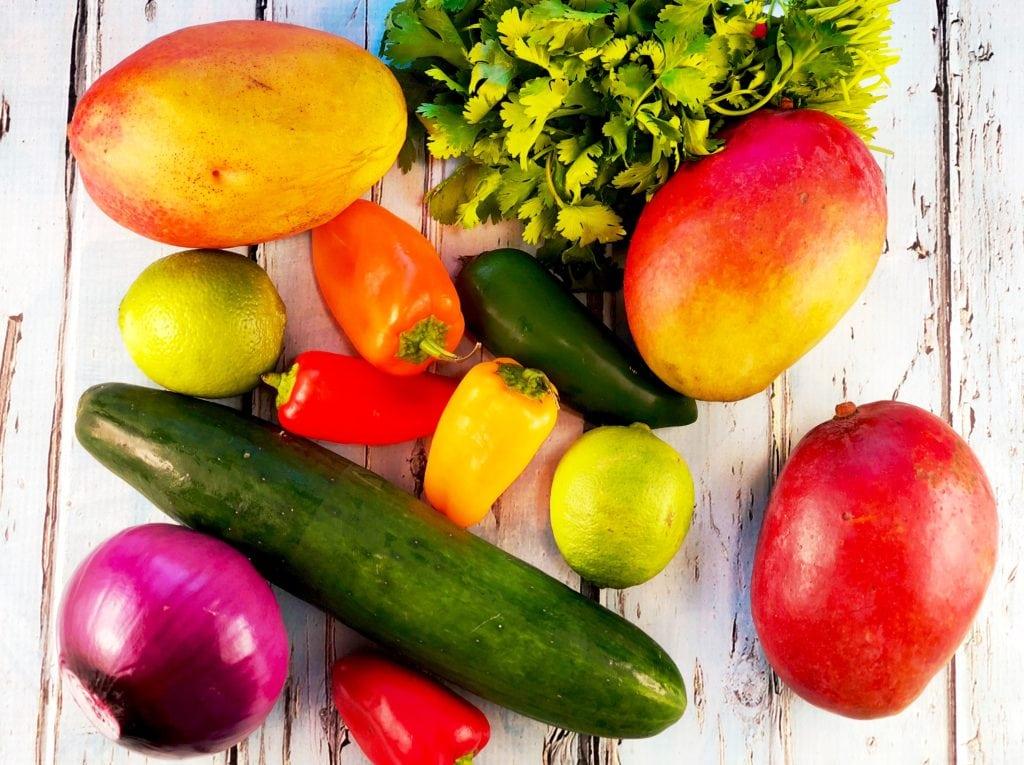 Ingredients Mango Gazpacho