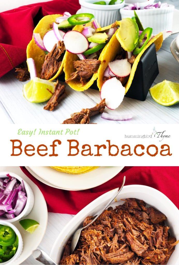 Easy Instant Pot Barbacoa