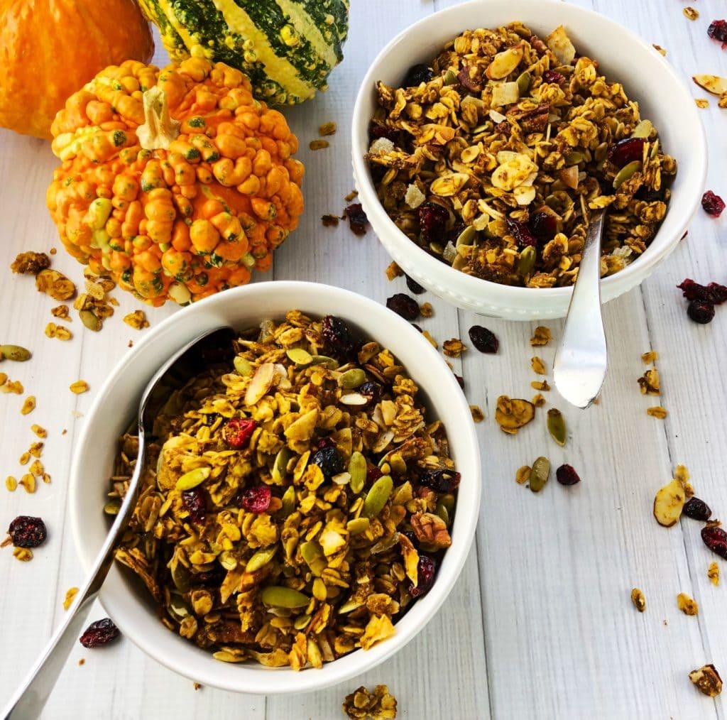 Homemade Pumpkin Spice Granola