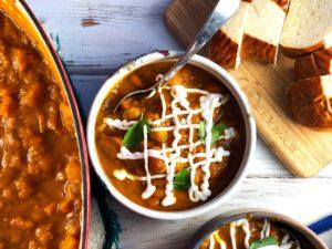 Moroccan Vegetable Soup Vegan