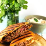 Lamb Stuffed Pita Sandwich