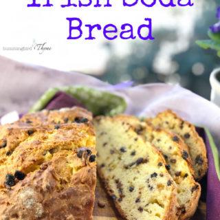 Irish Soda Bread with Currants