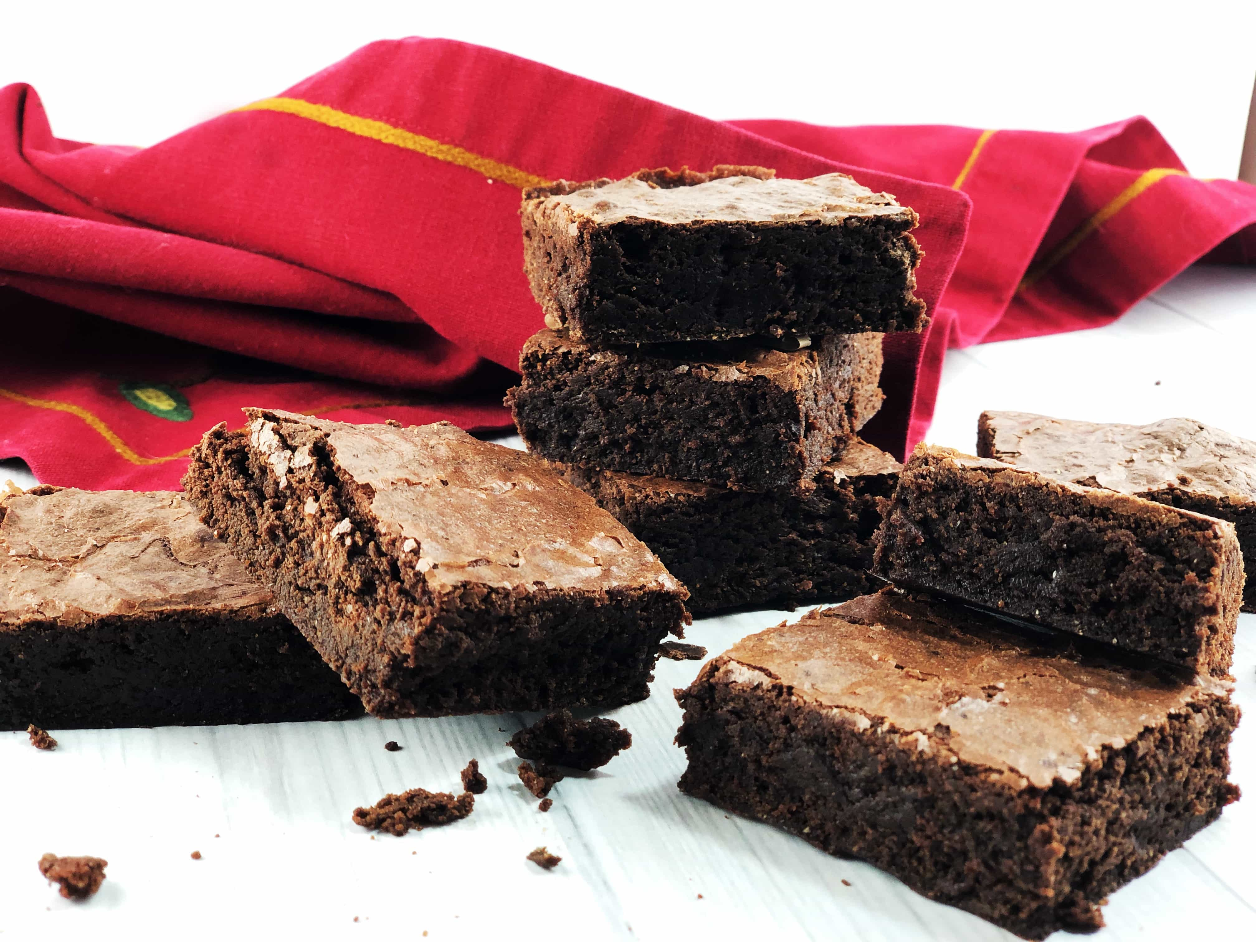 Absurdly Delicous Whole Wheat Brownies