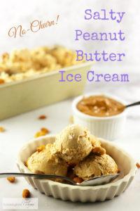 Easy Peanut Butter Ice Cream