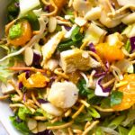 Beautiful and tasty Chinese Chicken Salad