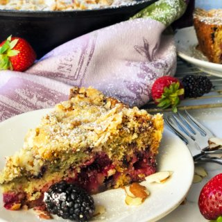 Blackberry Strawberry Buckle