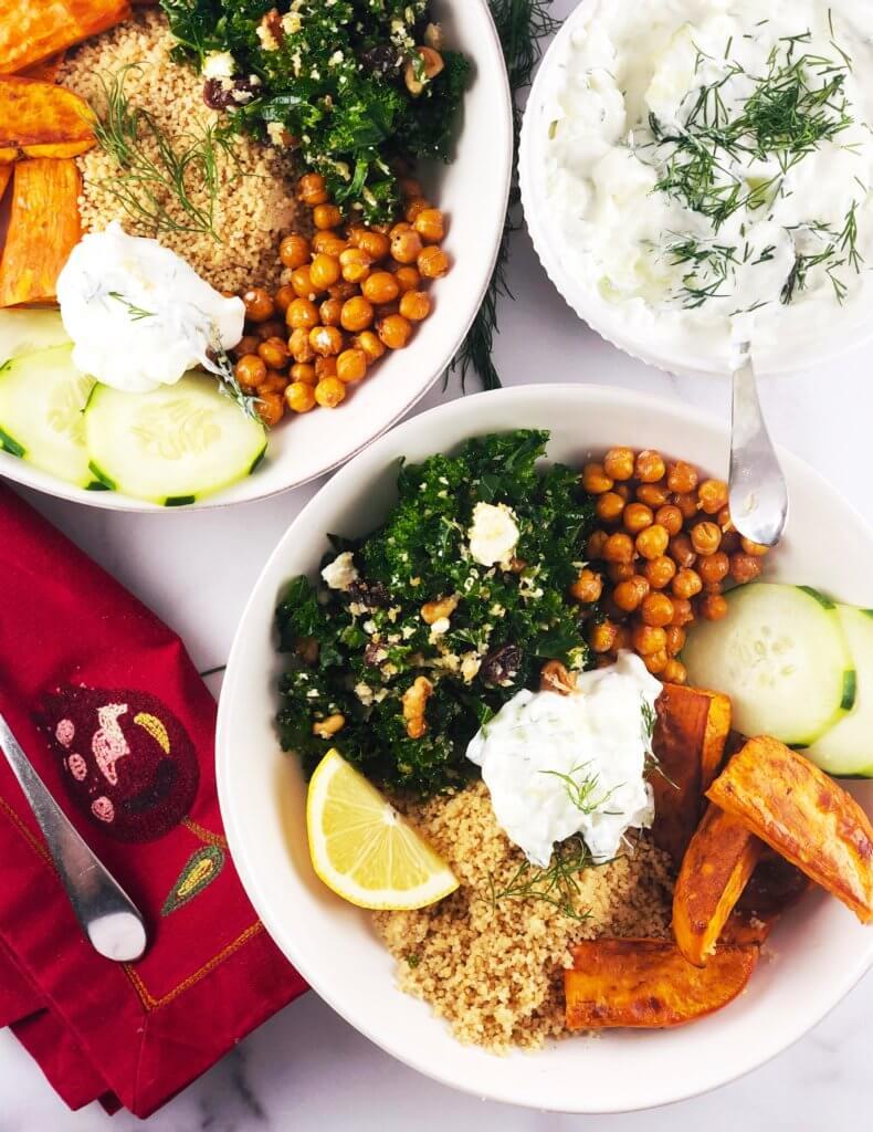 Healthy Greek Bowl