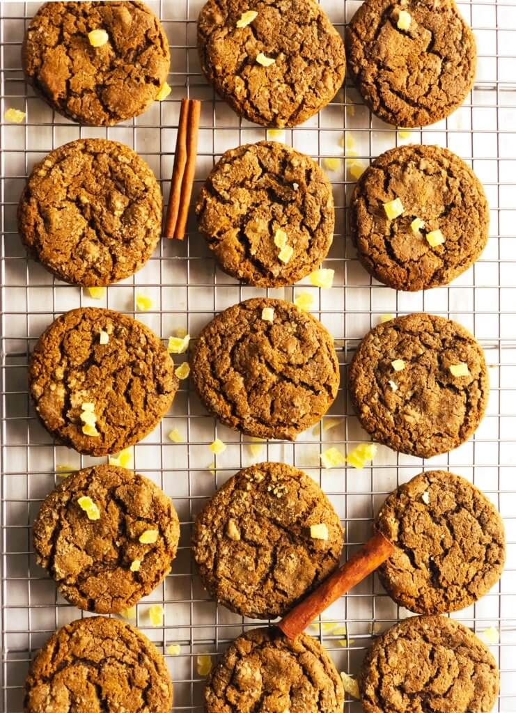 Soft Gingerbread Molasses Cookie Recipe