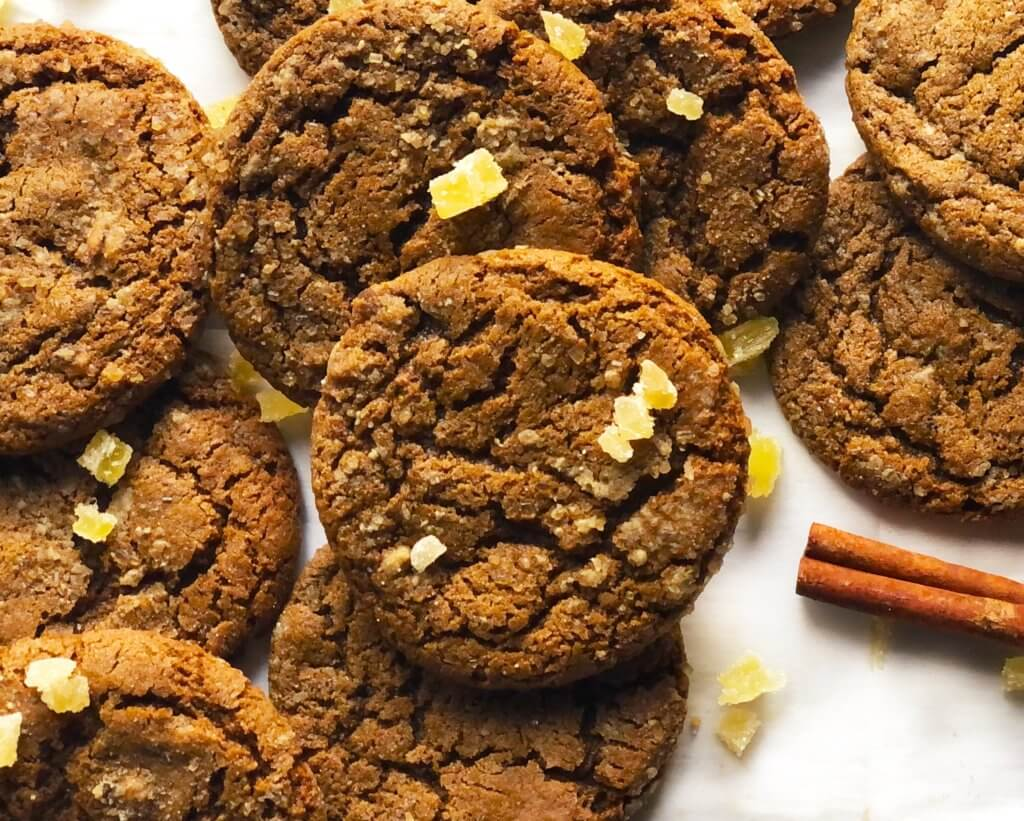 Image for ginger molasses cookie recipe