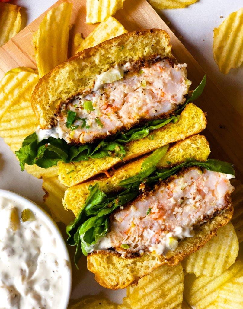 Southern Shrimp Burger