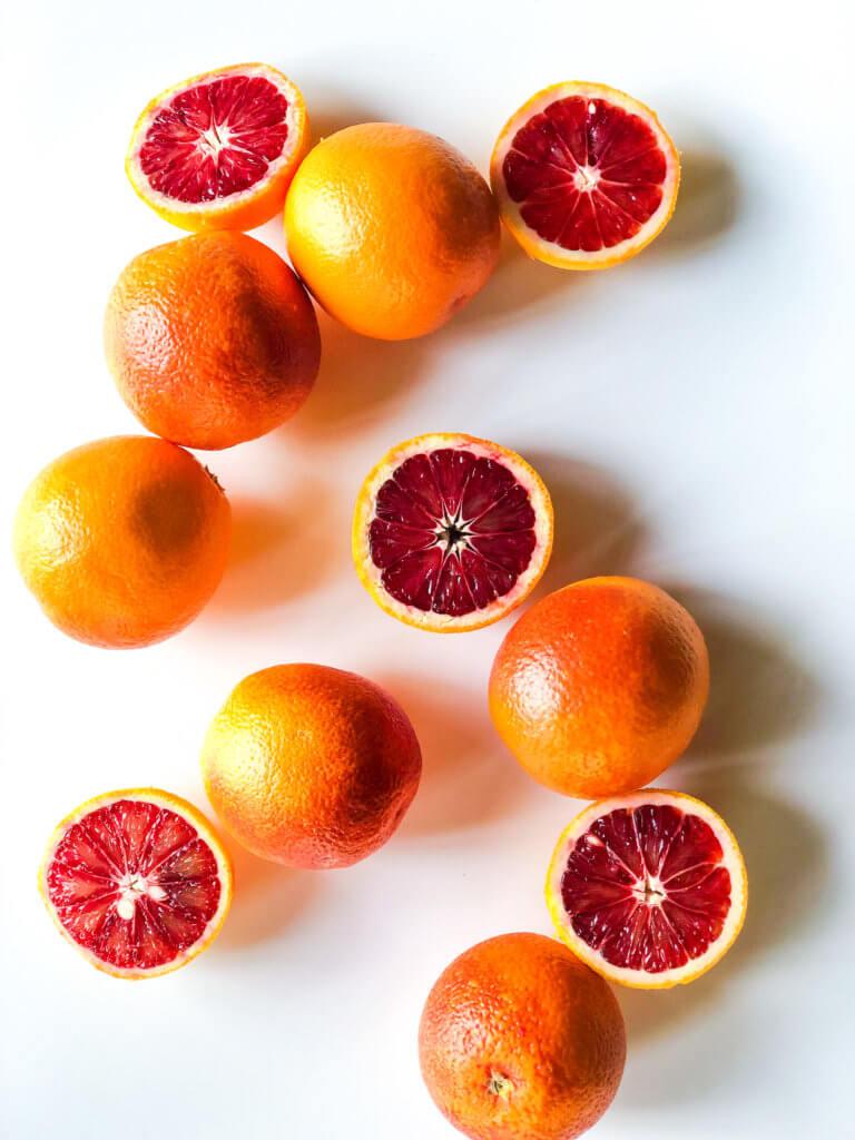 Blood Orange Poundcake
