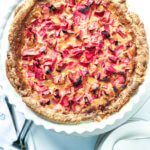 Old Fashioned Rhubarb Custard Pie