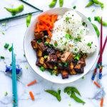 Crispy Tofu bowl Featured Image