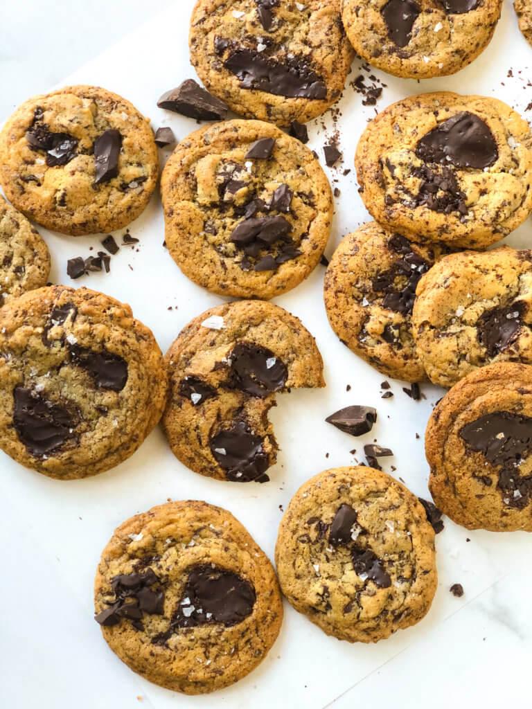 Chocolate Chip Cookies with Tahini