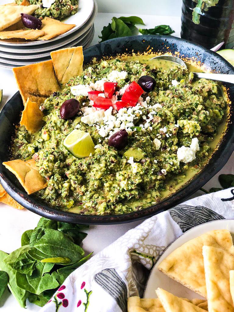 Greek Salad Dip Recipe