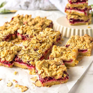 Cherry Cheesecake Bars Featured Image