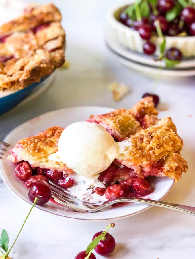 Featured photo Sour Cherry Pie