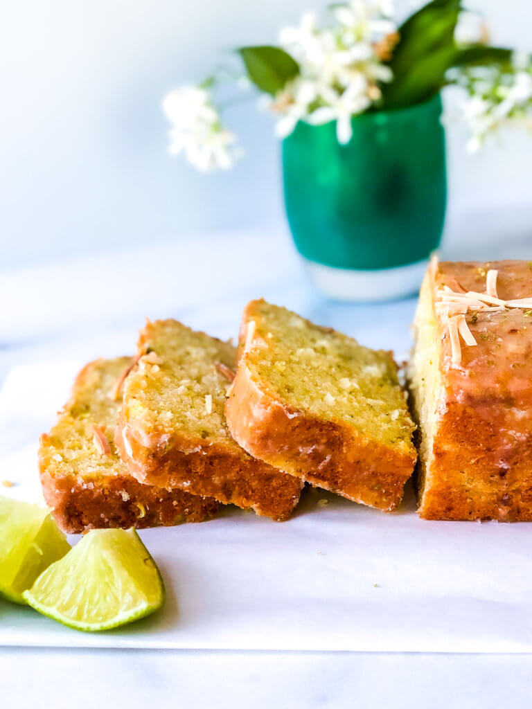 Coconut Lime Zucchini Loaf recipe photo