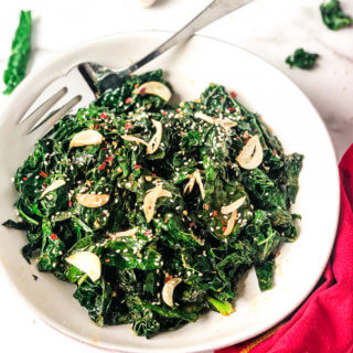 Smoky Kale Recipe featured image