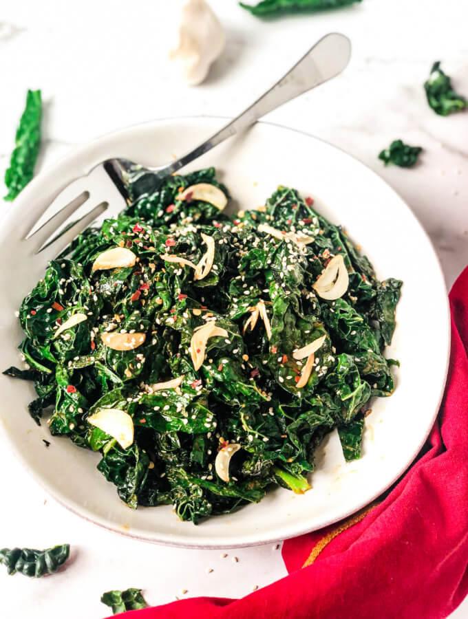 Smoky Kale Recipe featured image