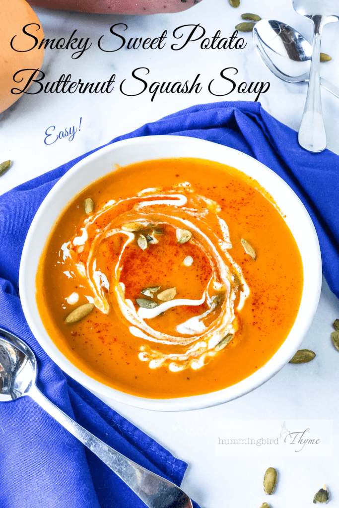 Pinterest Image Sweet Potato Soup