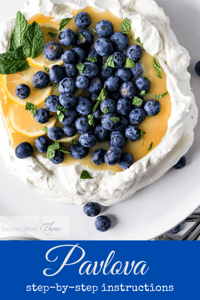 Step-by-step instructions for the lightest, crispy-edged, marshamallow-y middle Pavlova!