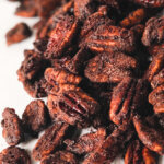 Slightly sweet and nicely Spicy Roasted Pecans