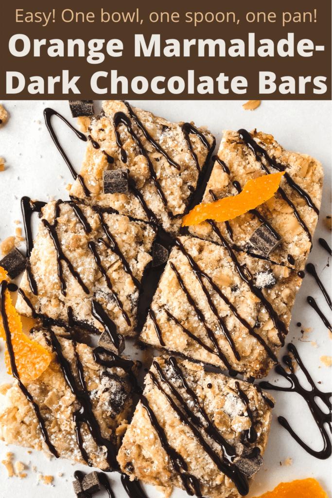 Chocolate Orange Oat Bars