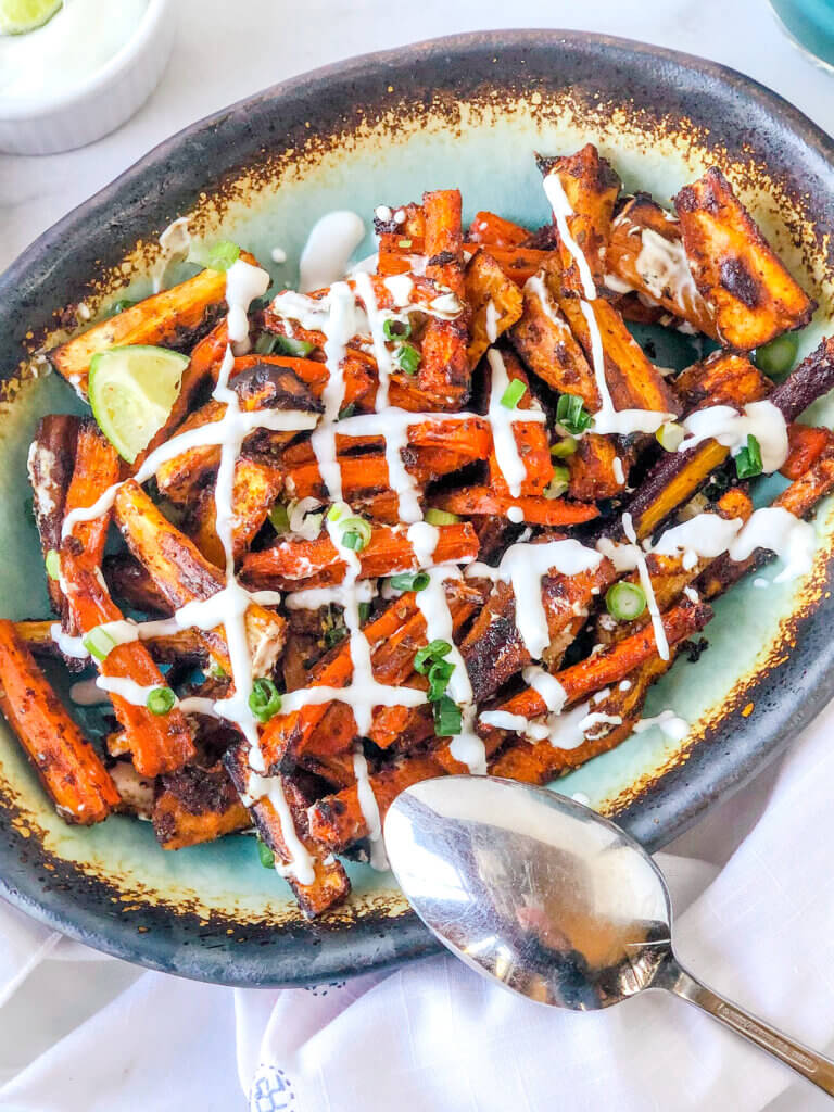 Perfect for any weeknight or special occasion, zesty, citrusy roasted carrots and parsnips are so easy and super-tasty