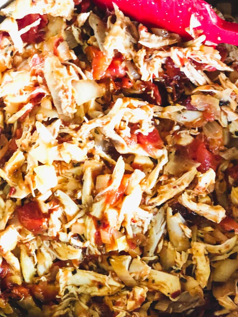 How to make easy chicken tinga