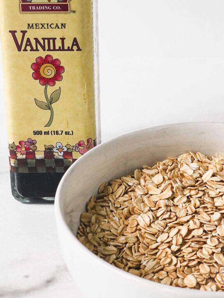 Vanilla and oats