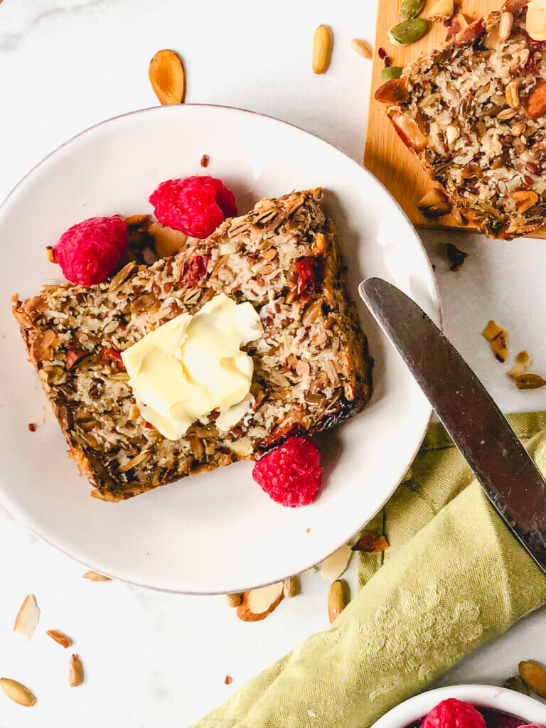 Adventure Bread is filled with nuts and oats - so healthy so delicious and you won't believe how easy to make!