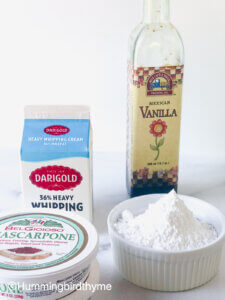 Process of making trifle