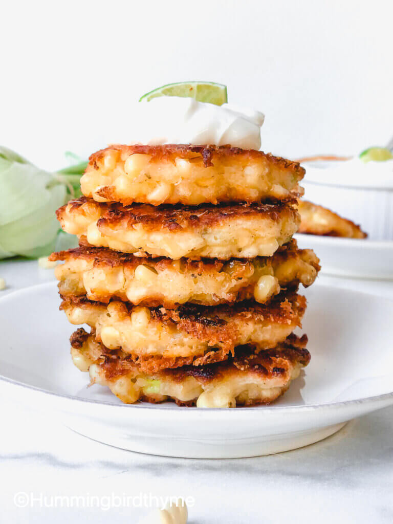 featured photo Spicy Corn Fritter recipe