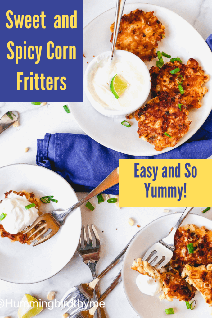 Quick and Easy Corn Fritters